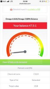 Omega 6 zu Omega 3 Balance